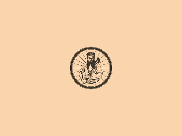 vintage logo seal logo templates creative market