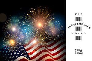 USA Independense Day background