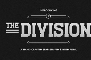 The Division Font