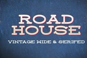 Roadhouse Font