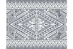 Tribal ornamental pattern