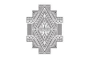 Ethnic Geometrical Pattern