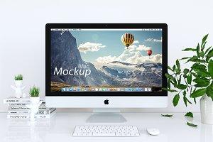 iMac Mockup in white_01