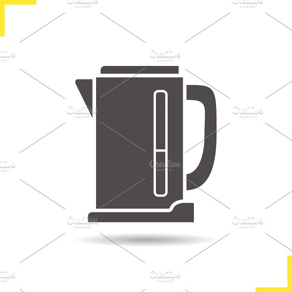 Electric kettle icon. Vector - Icons