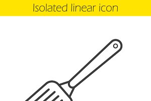 Spatula icon. Vector