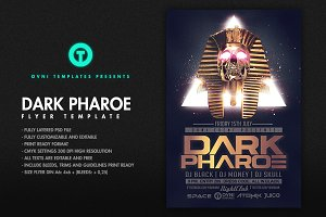 PHARAOE Flyer Template
