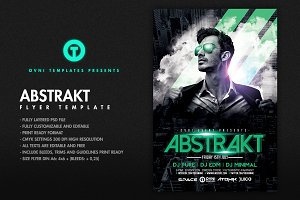 ABSTRAKT Flyer Template