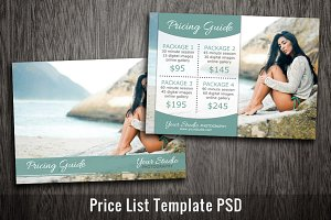 Photography Marketing Templates PSD