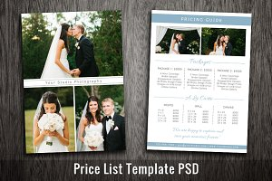 Wedding Marketing Template Photoshop