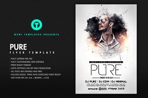 PURE Flyer Template