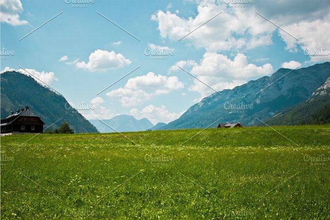 Alpine landscape. Austria. - Nature