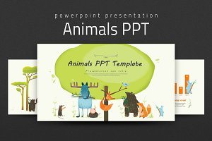 Sleep ppt presentation templates creative market 23 animals ppt by good pello in templates toneelgroepblik