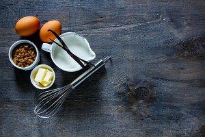 Ingredients for baking