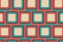 retro square pattern