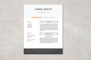 Resume Template - James
