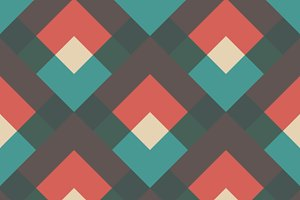 oblique retro pattern
