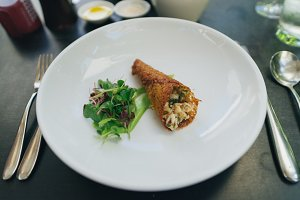 French Crab Crepe