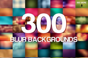 300 Blur Backgrounds