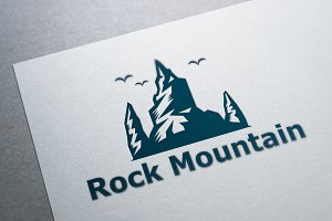 Rock Mountain Logo Template