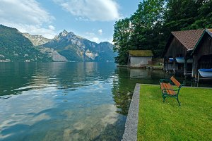 Traunsee summer lake