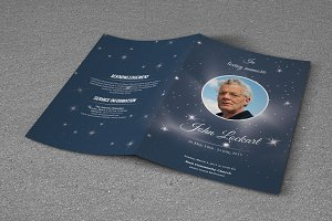 Funeral Program Template-T513
