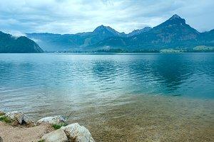 Wolfgangsee summer lake (Austria).