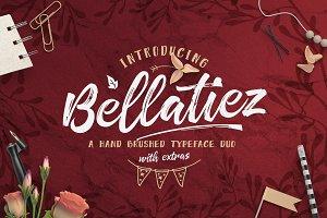 Bellatiez Font Duo + Bonus