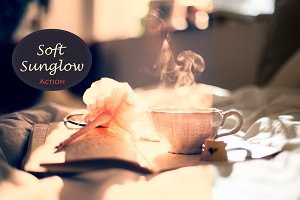 (50% off) Soft Sunglow 6 PS Actions
