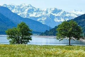 Reschensee (Austria).