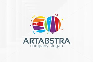 Abstract Art Logo Template