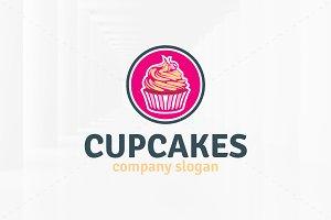 Cupcakes Logo Template