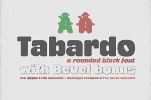 Tabardo font + bonus