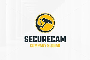 Secure Cam Logo Template