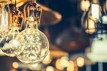 uxury light lamp decor glowing