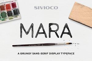 Mara – Typeface