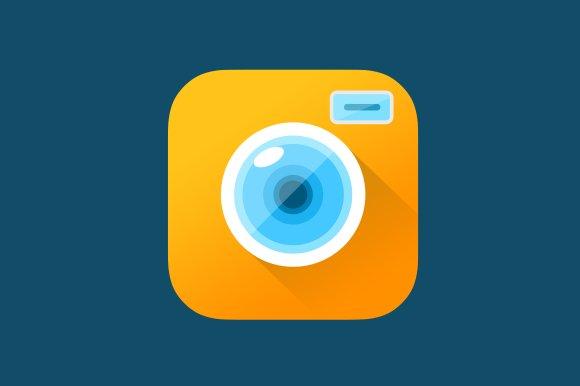 camera app icon template icons creative market