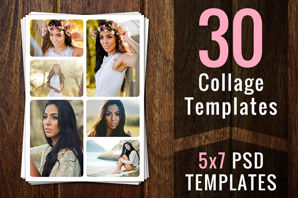Photography marketing template set flyer templates creative market pronofoot35fo Images