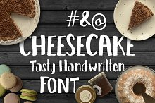 Cheesecake - Tasty Handwritten Font