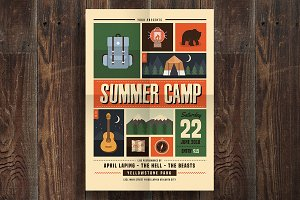 Indie Summer Camp Flyer
