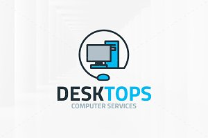 Desktop Logo Template