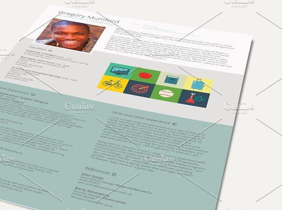 CEO CVResume Resume Templates on Creative Market – Ceo Resume