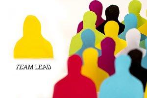 Paper Women Team Lead Concept