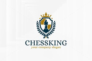 Chess King Logo Template