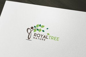 Royal Tree Logo Template