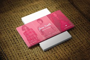Fashion/Photographer Business Card
