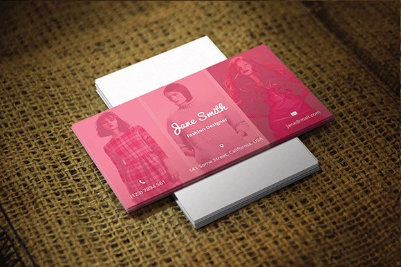 FashionPhotographer Business Card Business Card Templates - Photographer business card template