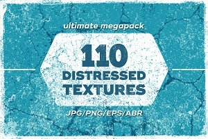 110 Distressed Textures