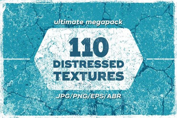 110 Distressed Textures
