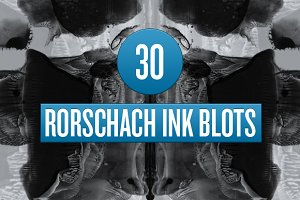 RORSCHACH INK BLOT PHOTOSHOP BRUSHES