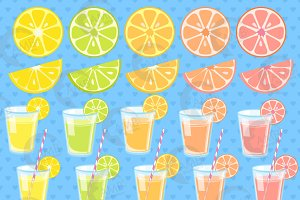 Lemonade Surprise Clipart, 1328